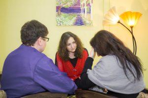 Семья на приеме у Натали Ваксман